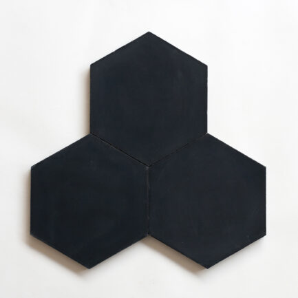 Mosaico Hidráulico Preto Encaustic cement tile Black