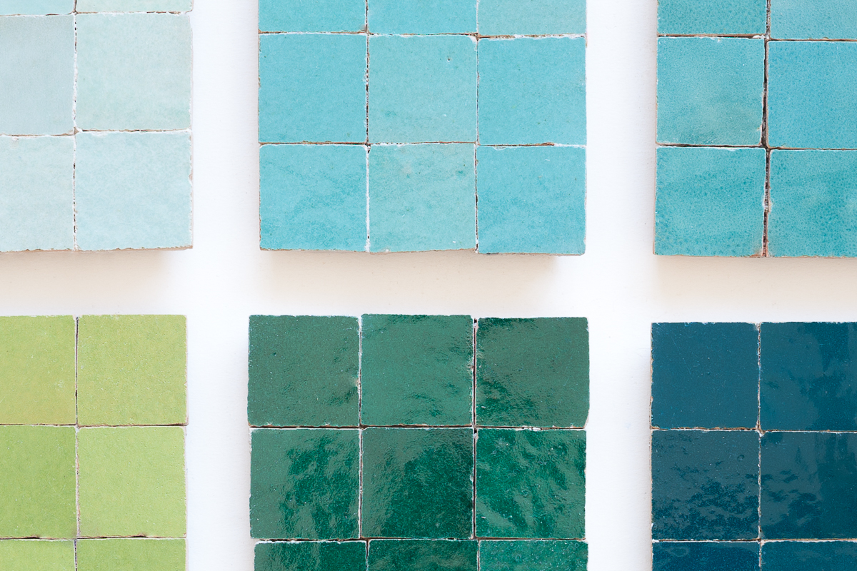 Zellige todas as cores Zellige all colours