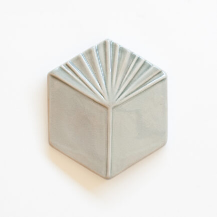 Azulejo Hexagonal Cube Cloud Grey - Hexagonal Glazed Tile  AZTTH1316LBMCCGREY - Loja do Azulejo - Tiles Shop-1