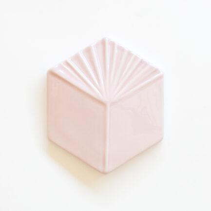 Azulejo Hexagonal Cube Rose Pink - Hexagonal Glazed Tile  AZTTH1316LBMCMAUV - Loja do Azulejo - Tiles Shop-1