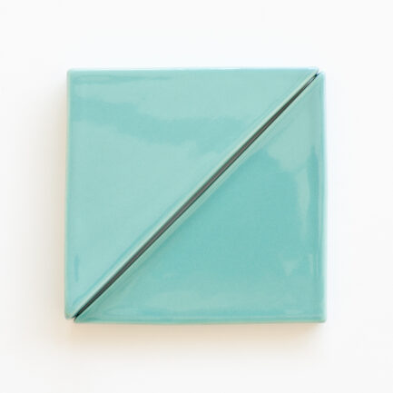 Azulejo Wedge Triangle Green Dream - Wedge Triangle Glazed Tile AZTTT1212LBTSGDREAM - Loja do Azulejo - Tiles Shop-1