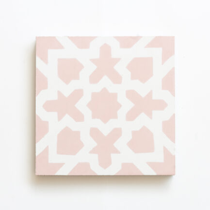 Mosaico Hidraulico Pink Mashrabiya - Cement Tile - Loja do Azulejo - Tiles shop online 1